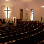 Cordova Baptist Church interior