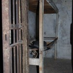 "Jail cell in the ""dungeon"""