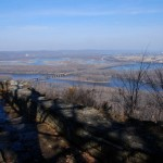 Late spring view from Wyalusing State Park