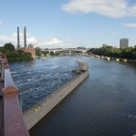 Minneapolis, Minnesota from the Stone Arch Bridge