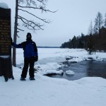Itasca State Park in winter