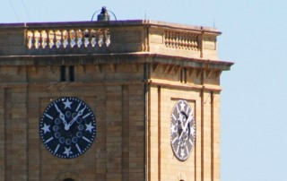 Rock Island Arsenal IL Clock Tower