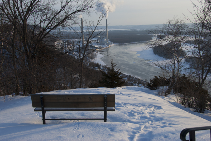 View from Buena Vista Park; Alma, Wisconsin