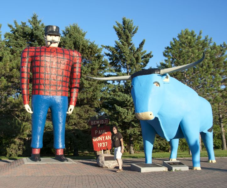 Babe and Paul; Bemidji, MN