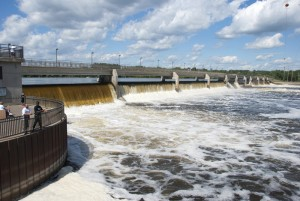 Coon Rapids Dam from Brooklyn Park