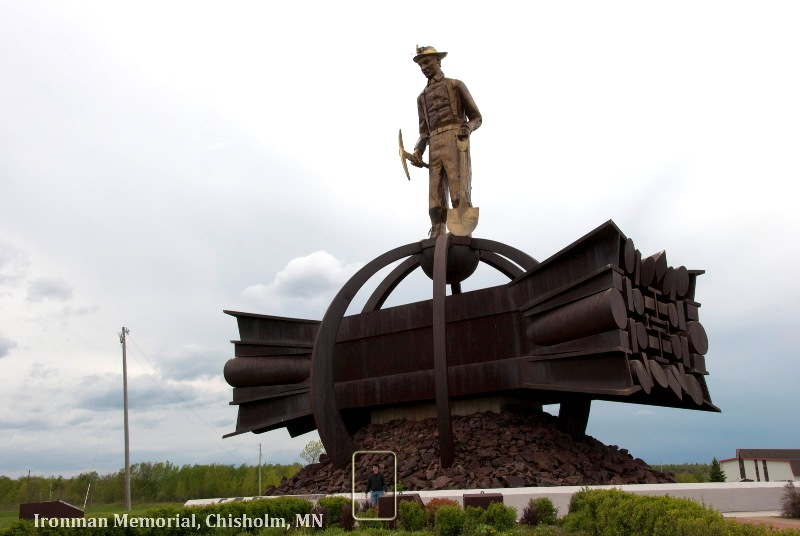Ironman Memorial; Chisholm, MN