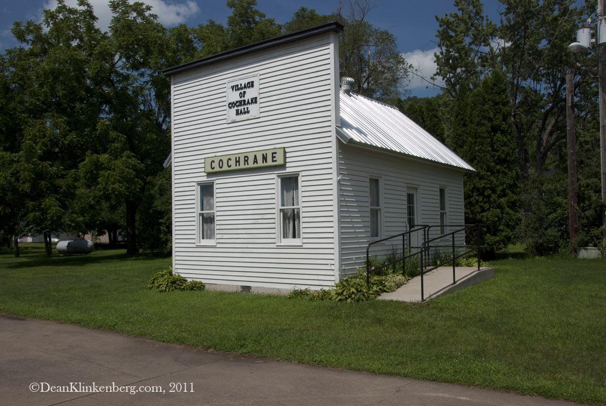 Old Village Hall; Cochrane, WI
