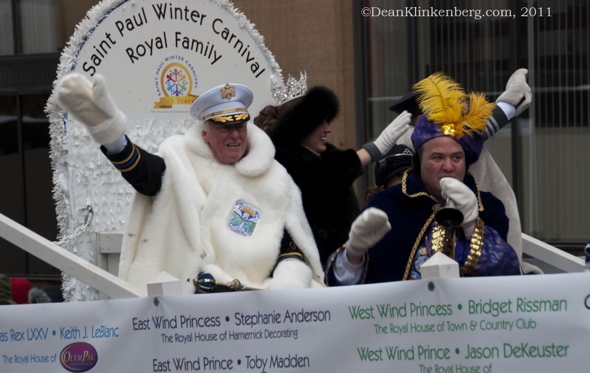 Winter Carnival Parade; St. Paul, MN