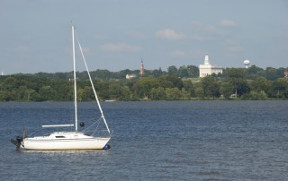 Nauvoo, IL from Montrose, IA