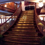 Grand staircase; Delta Queen