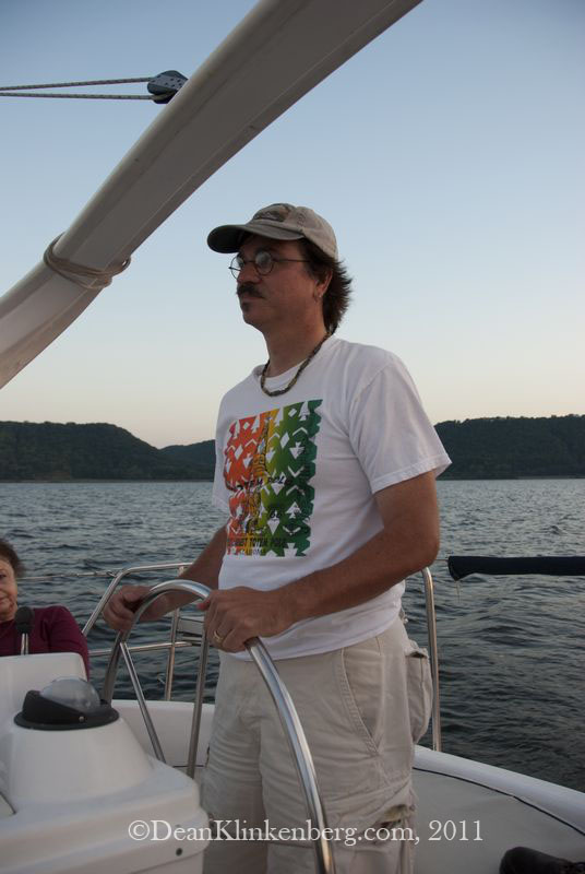 Sailing on Lake Pepin