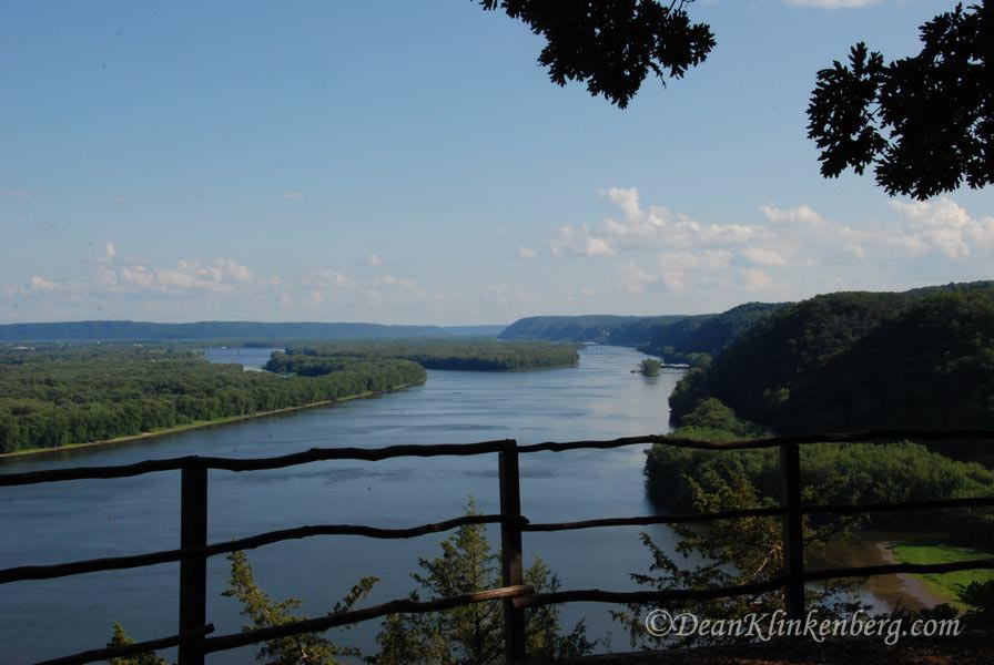 Fire Point; Effigy Mounds National Monument, IA