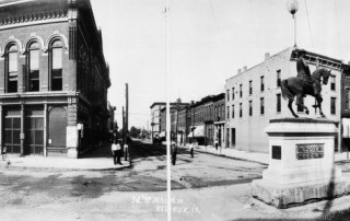 Panorama of Keokuk, Iowa (courtesy of Keokuk Public Library)