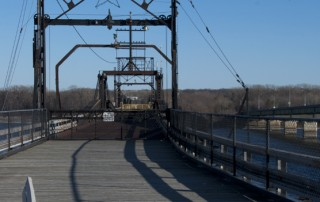 Old swing bridge; Keokuk, IA