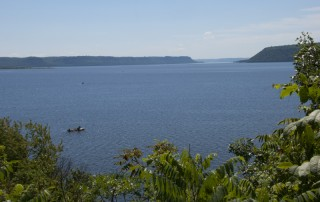 Lake Pepin, from the Wisconsin shore