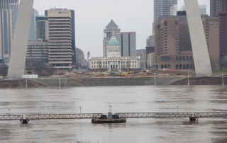 High water at St. Louis; Dec. 31, 2015