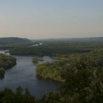 Confluence of Chippewa and Mississippi Rivers