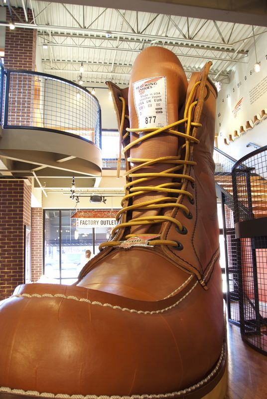 World's Largest Boot; Red Wing, MN
