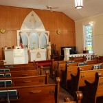 Port Byron Congregational Church interior
