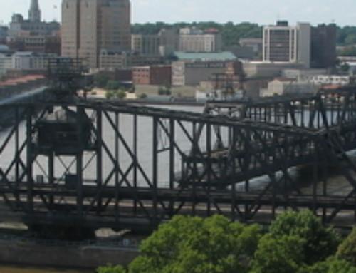 Swinging over the Locks: The Quad Cities' Government Bridge