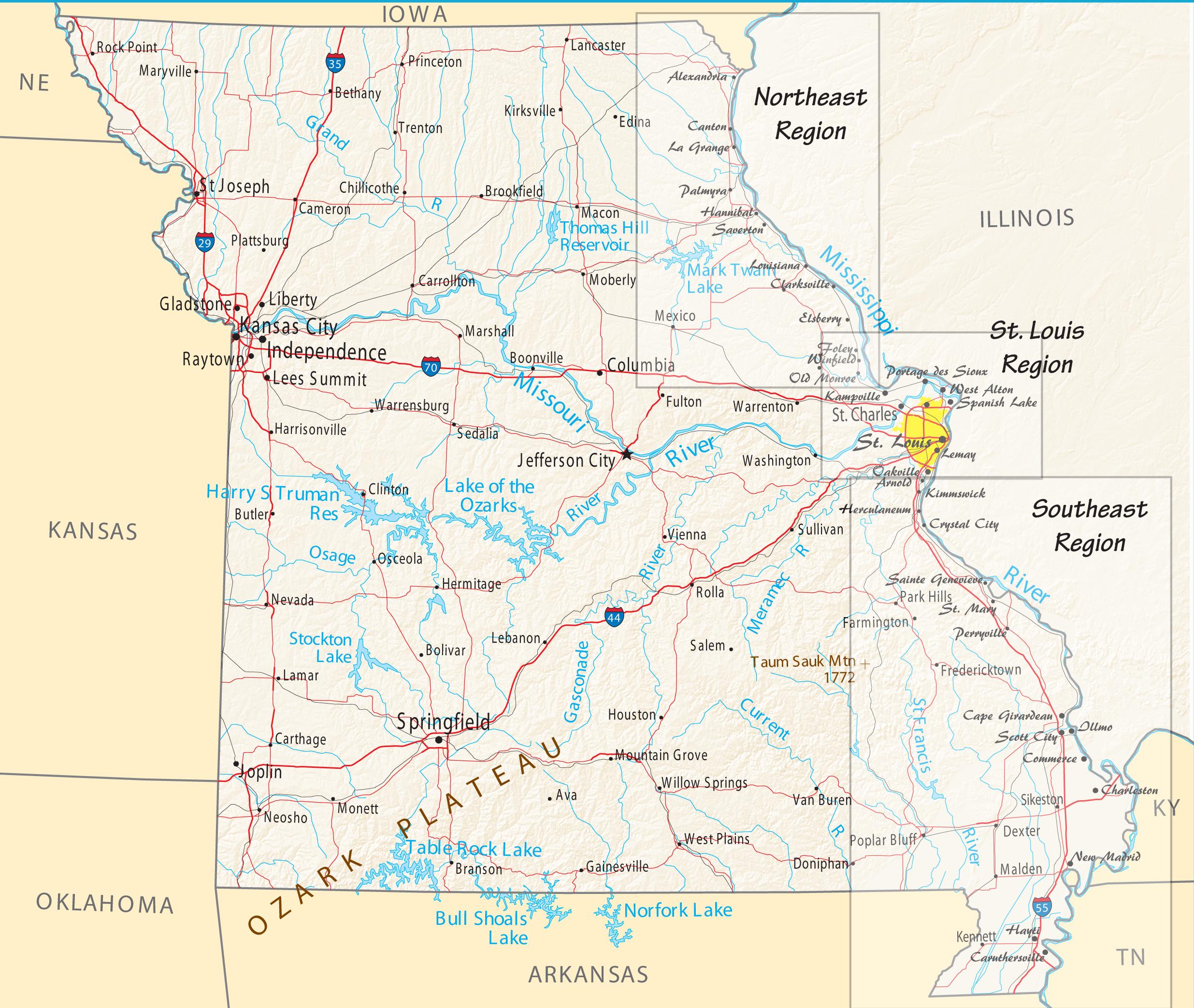 Missouri River Towns - Mississippi Valley Traveler
