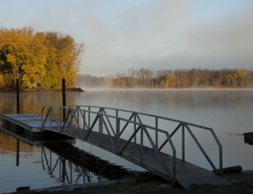 Autumn Along the Mississippi River