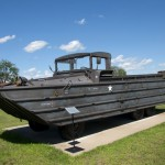 Outside the Minnesota Military Museum