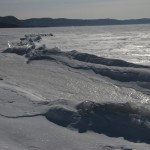 Ice in the Mississippi at Ferryville, Wisconsin