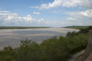 The Mississippi River at Vicksburg, MS