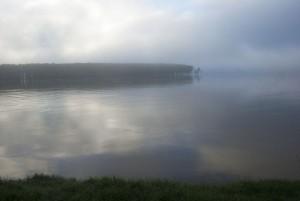 Sunrise on the Lower Mississippi River