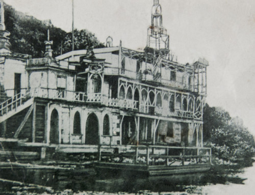 Putnam Gray and His Castle on the River